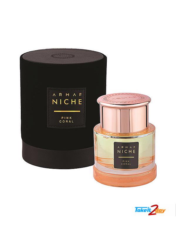 Armaf Niche Pink Coral Perfume For Women 90 ML EDP (ARNIPICO01)