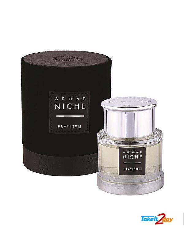 Armaf Niche Platinum Perfume For Men 90 ML EDP (ARNIPL02)