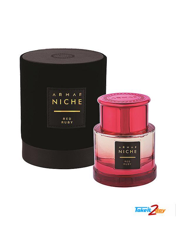 Armaf Niche Red Ruby Perfume For Women 90 ML EDP (ARNIRERU01)