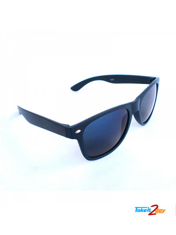 Wayfarers Sunglasses Eyeon Black For Men And Women (EWB001)