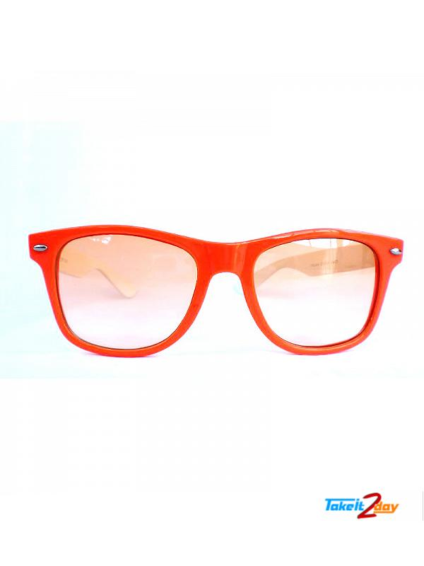 Wayfarers Sunglasses Eyeon Orange For Men And Women (EWO001)