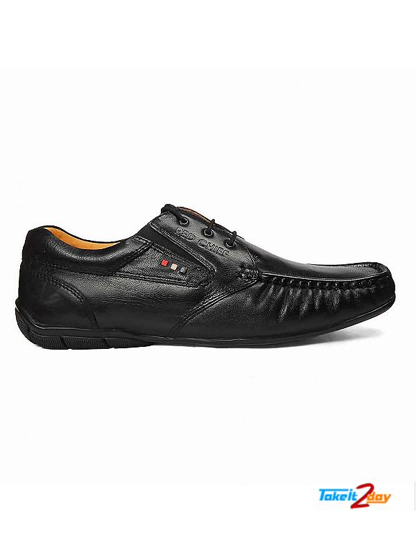 Red Chief Formal Shoes Mens Black Colour RC10061 (RC10061)