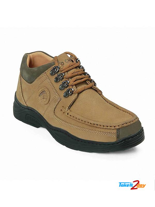 Red Chief Mens Casual Shoes Camel Colour RC1200 (RC1200004)