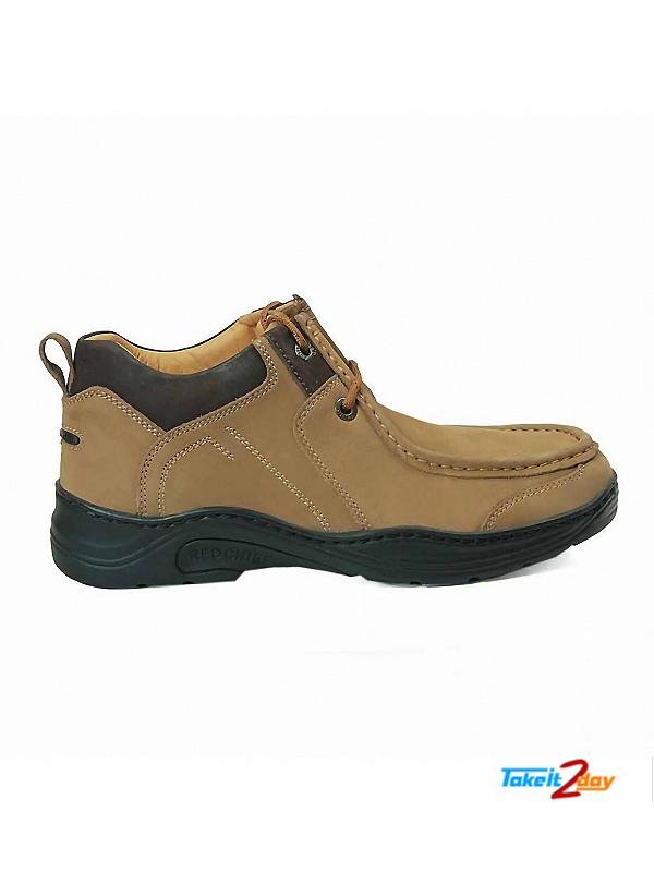 Red Chief Mens Casual Shoes Camel Colour RC1215 (RC1215004)