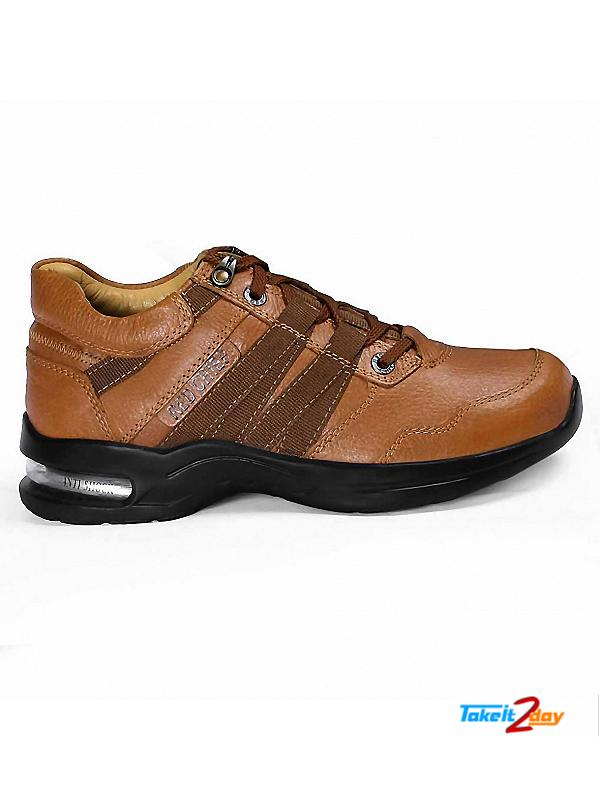 Red Chief Casual Shoes Mens Dark Brown