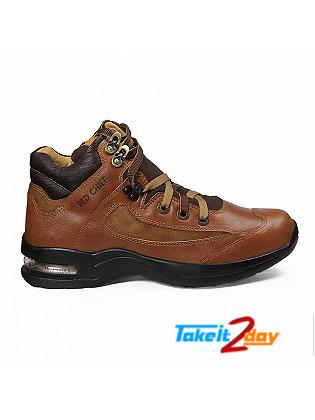 Red Chief Casual Shoes Mens Dark Brown RC1985