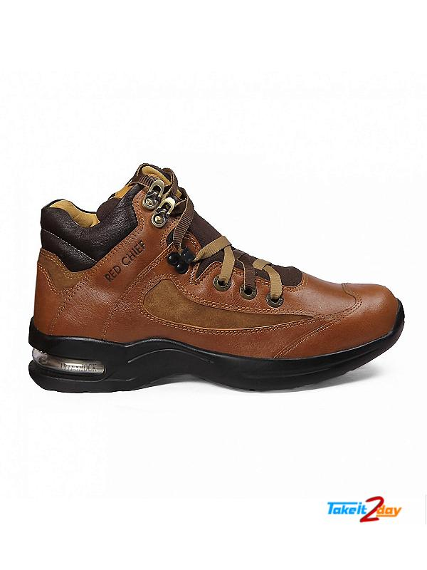 Red Chief Casual Shoes Mens Dark Brown RC1985 (RC1985287)