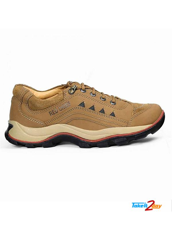 Red Chief Mens Casual Shoes Rust Colour RC2015 (RC2015022)