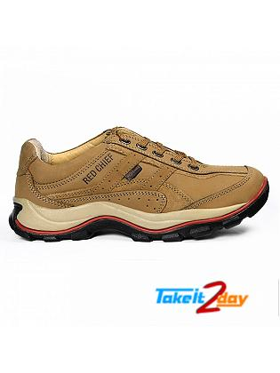 Red Chief Casual Mens Shoes Rust Colour RC2020