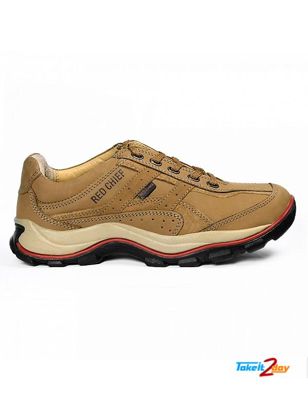 Red Chief Casual Mens Shoes Rust Colour RC2020 (RC2020022)
