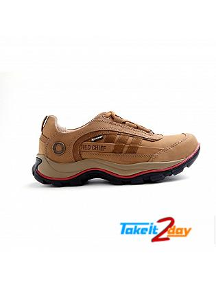 Red Chief Mens Casual Shoes Rust Colour RC2021