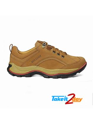 Red Chief Casual Mens Shoes Colour Rust RC2026