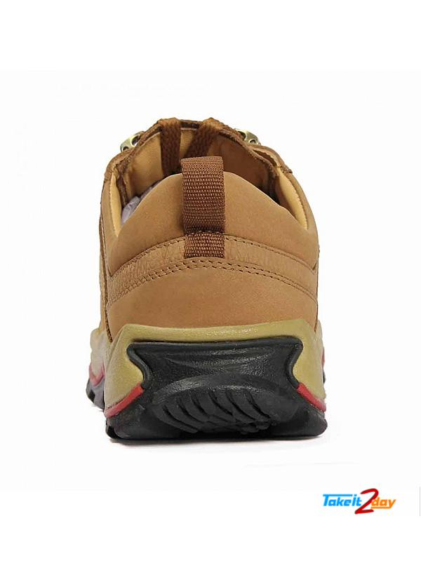 Red Chief Casual Mens Shoes Colour Rust