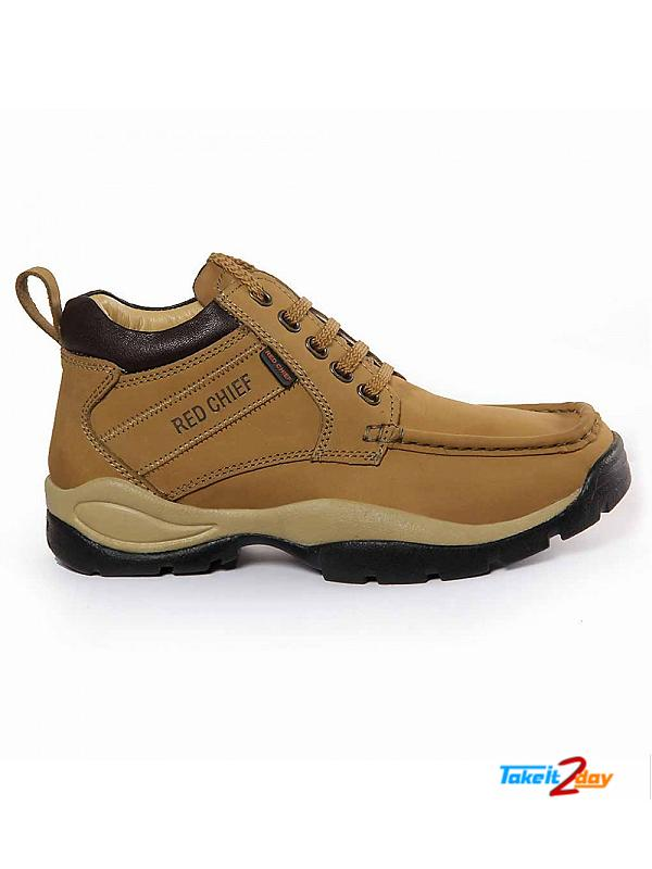 Red Chief Casual Shoes Mens Colour Rust (RC2051022)