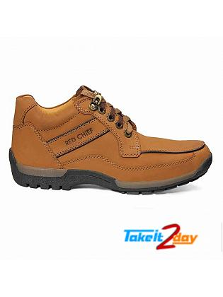 Red Chief Ankle Casual Shoes Mens Rust Colour