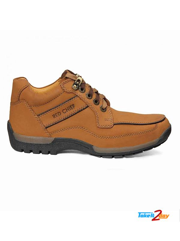 Red Chief Ankle Casual Shoes Mens Rust Colour (RC2111022)