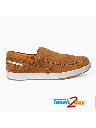 Red Chief Casual Shoes Mens Swed Rust Colour