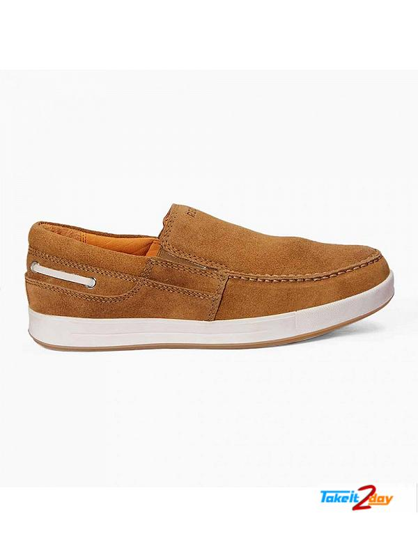Red Chief Casual Shoes Mens Swed Rust Colour (RC2352289)