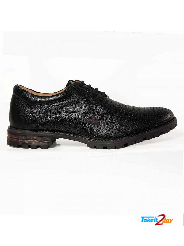 Red Chief Formal Shoes Mens Black (RC2396001)