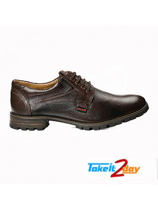 Red Chief Formal Shoes For Men Dark Brown
