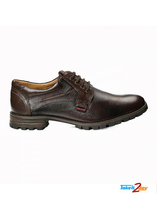 Red Chief Formal Shoes For Men Dark Brown (RC2396A003)