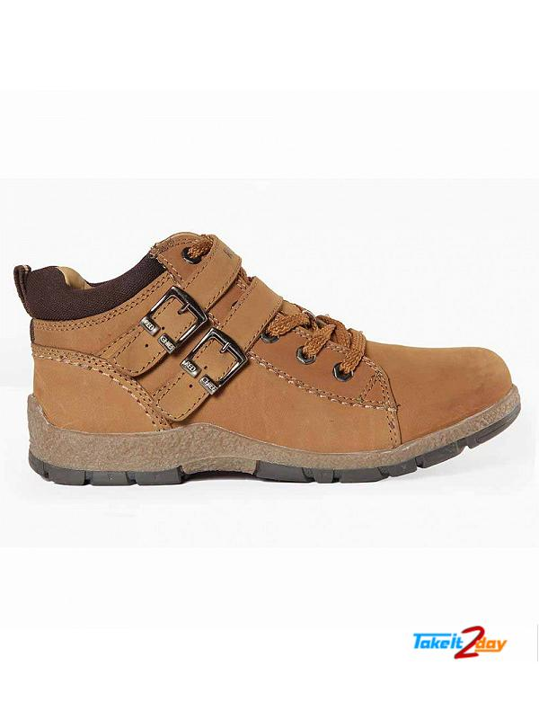 Red Chief Casual Shoes Mens Rust Colour (RC2724022)