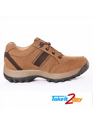 Red Chief Casual Shoes Mens Camel Colour