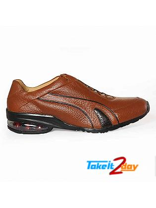 Red Chief Casual Shoes Dark Mens Brown Colour