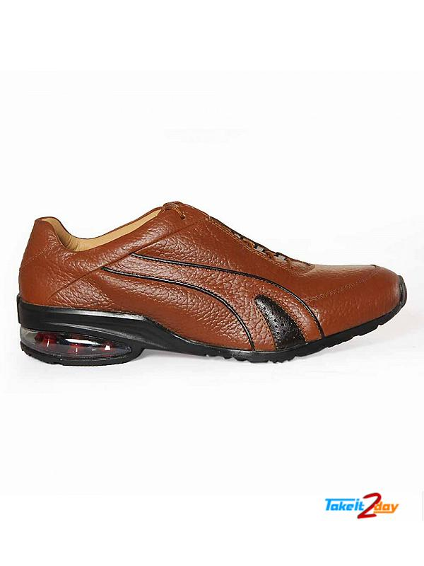 Red Chief Casual Shoes Dark Mens Brown Colour (RC2853107)