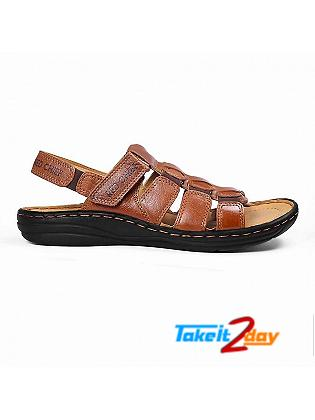 Red Chief Mens Casual Sandals/Floaters G Tan