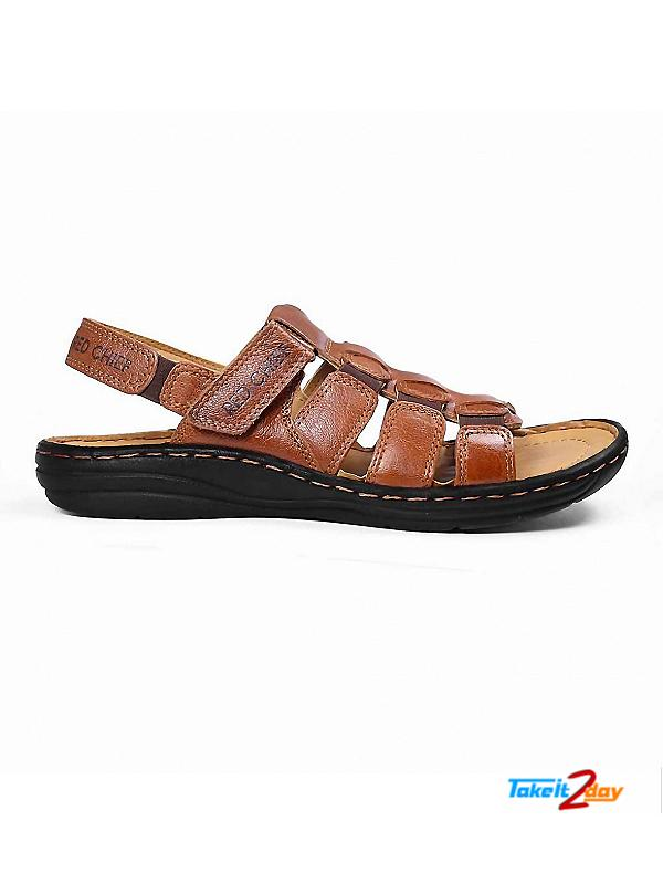 6a30b24d8d9 Red Chief Mens Casual Sandals Floaters G Tan (RC1081287)