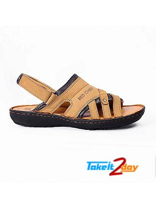 Red Chief Mens Casual Sandals/Floaters Rust