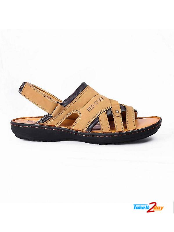 Red Chief Mens Casual Sandals/Floaters Rust (RC1684022)