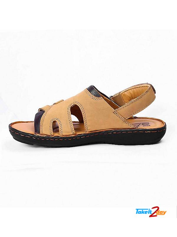 Red Chief Mens Casual Sandals Floaters Rust Rc1684022
