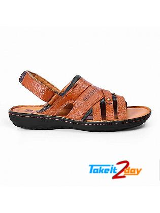 Red Chief Mens Casual Sandals/Floaters Brown