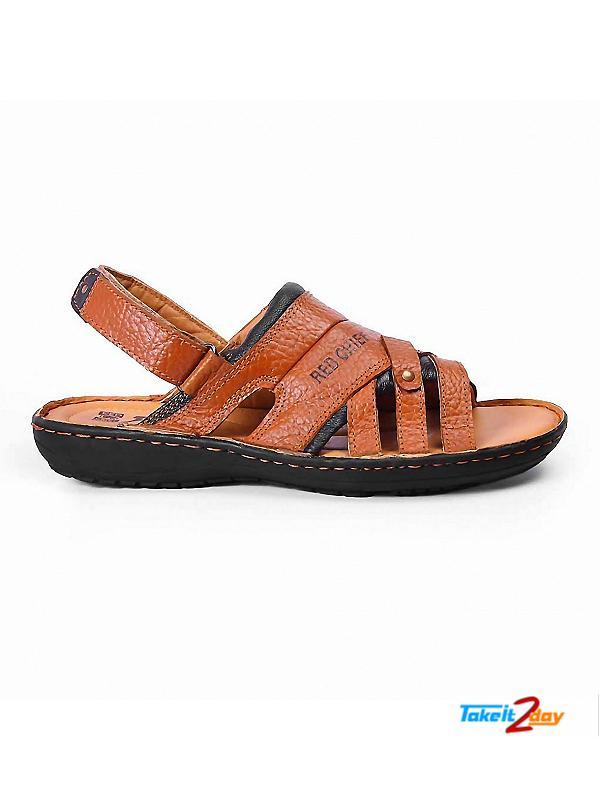 Red Chief Mens Casual Sandals/Floaters Brown (RC1684107)