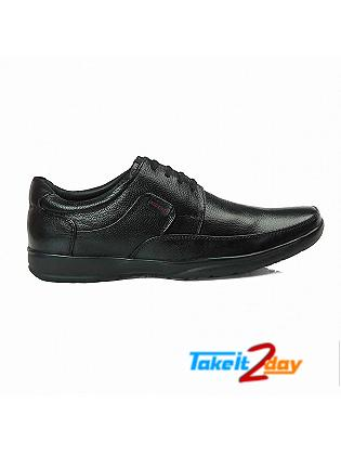 Red Chief Formal Shoes Mens Black Colour RC1090