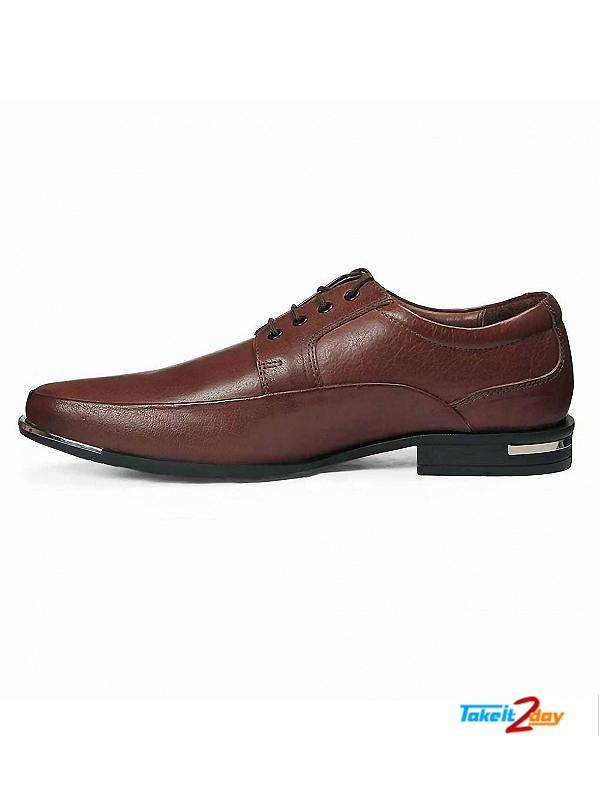 Red Chief Formal Shoes Mens Dark Brown Colour RC1516 (RC1516407)