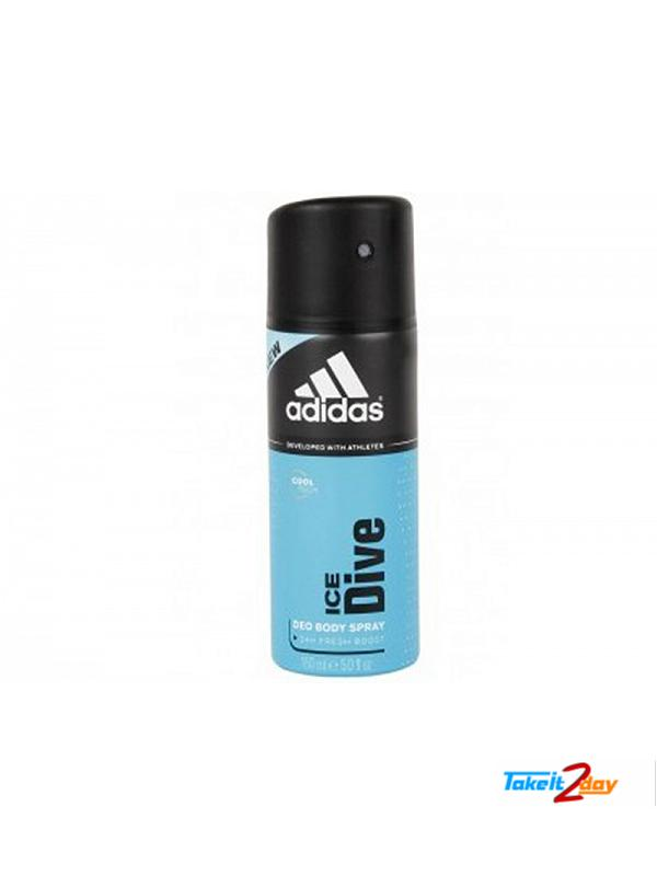 Adidas Ice Dive Deodorant Body Spray For Men 150 ML