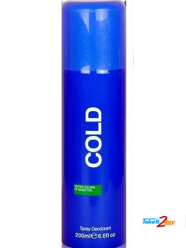 United Colors Of Benetton Cold Deodorant Body Spray For ...