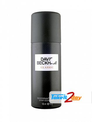 David Beckham Classic Perfume Deodorant Spray For Men 150 ML