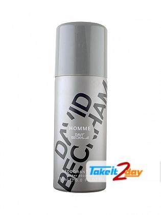 David Beckham Homme Perfume Deodorant Spray For Men 150 ML