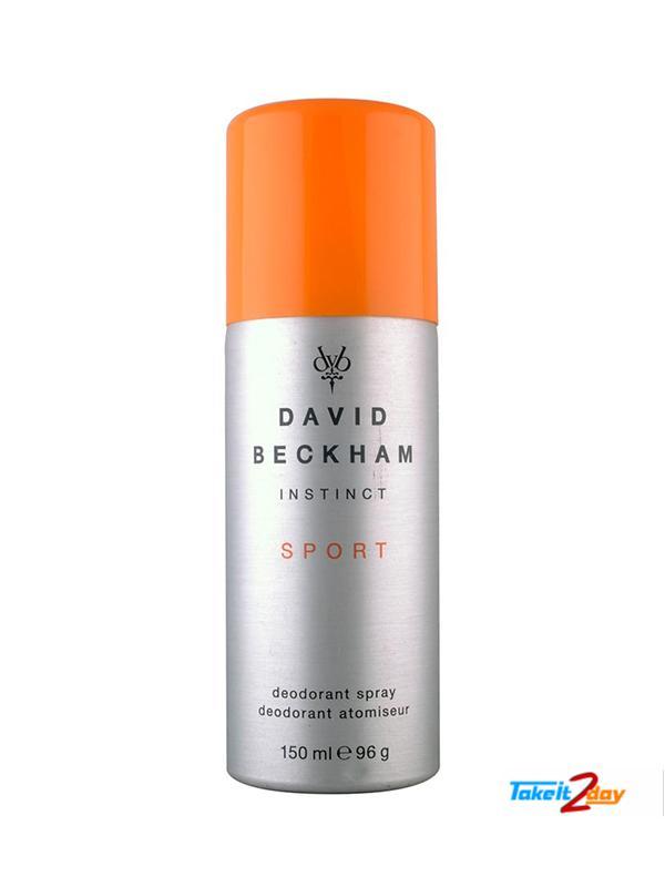 David Beckham Instinct Sport Beyond Parfum Deodorant Spary For Men 150 Ml