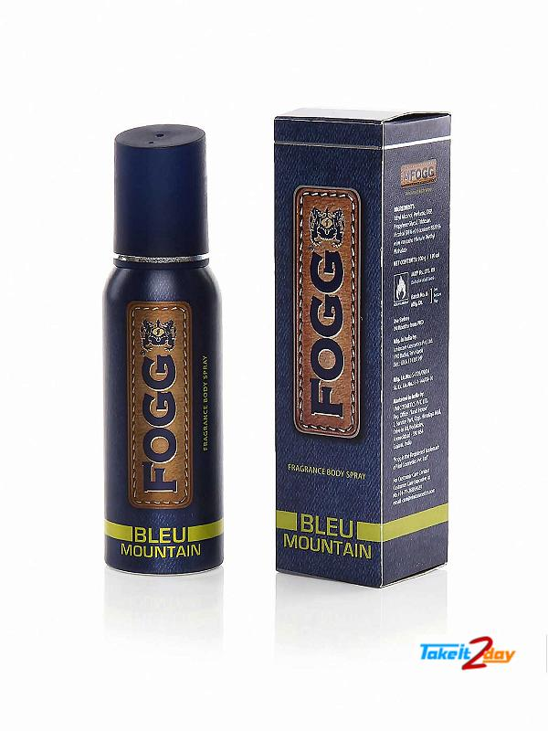 Fogg Bleu Mountain Deodorant Body Spray For Men 120 ML (FOMO01)