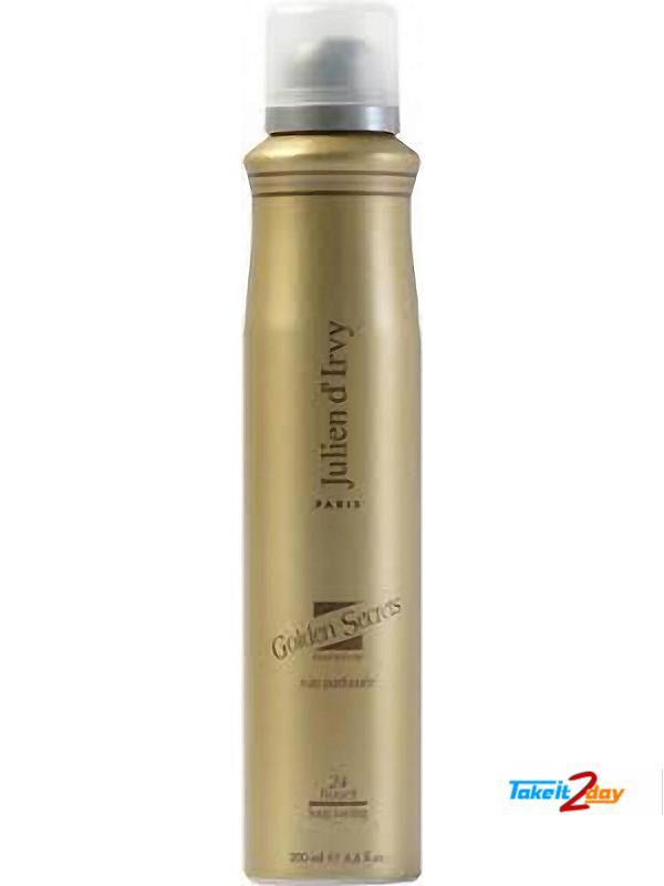 Julien D  Irvy Golden Secrets Deodorant Body Spray For Men 200 ML (JUGOSE01)