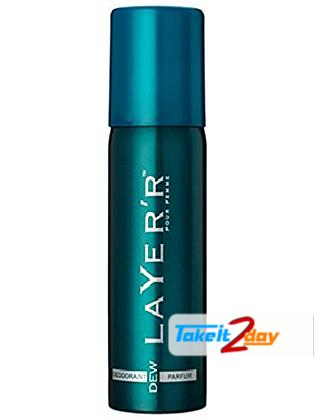 Layer'r Pour Homme Dew Deodorant Body Spray For Men 120 ML