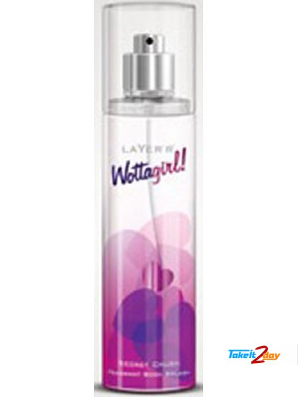 Layer r Wottagirl Secret Crush Deodorant Body Spray For Women 135 ML (LASW01)