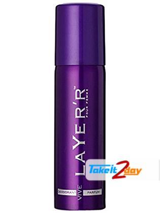 Layer'r Pour Homme Vive Deodorant Body Spray For Men 120 ML