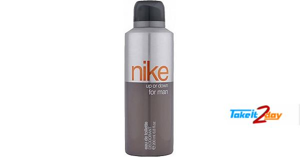 Nike Up Or Down Deodorant Body Spray For Men 200 ML
