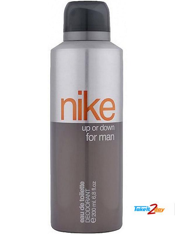 c0bec6b90 Nike Up Or Down Deodorant Body Spray For Men 200 ML (NIUP01)